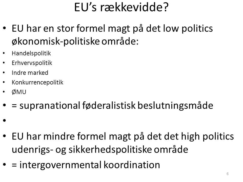 6 EU's rækkevidde.