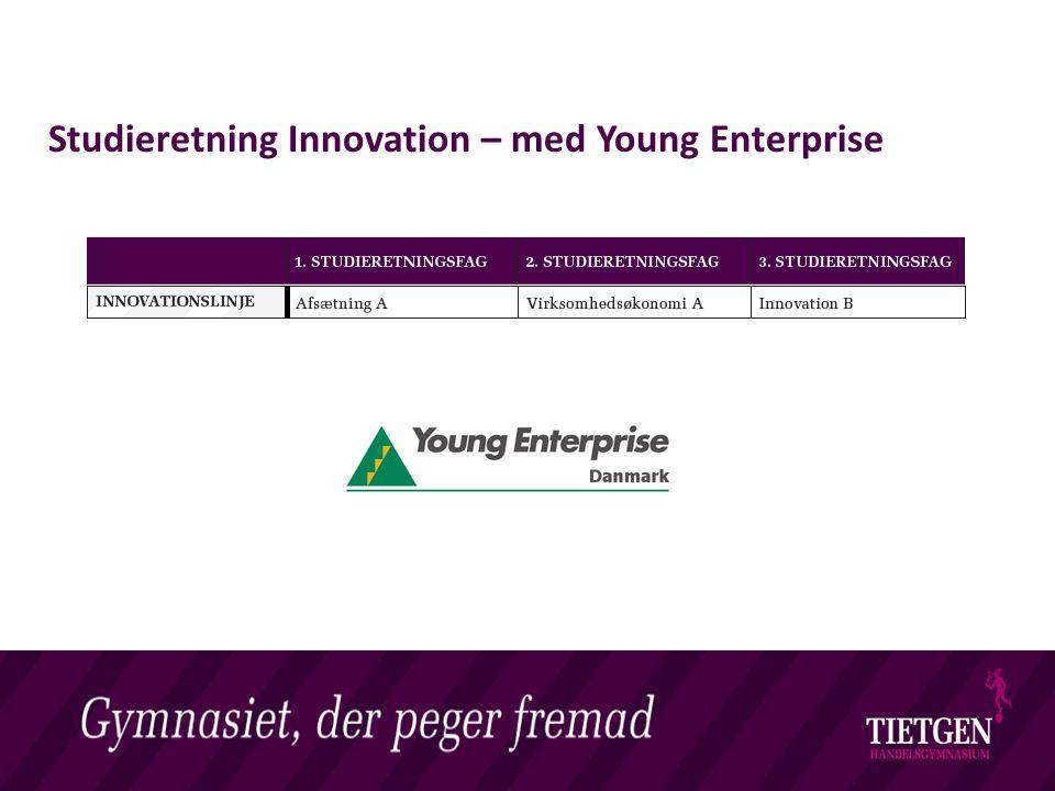 Livet på et Handelsgymnasium Studieretning Innovation – med Young Enterprise