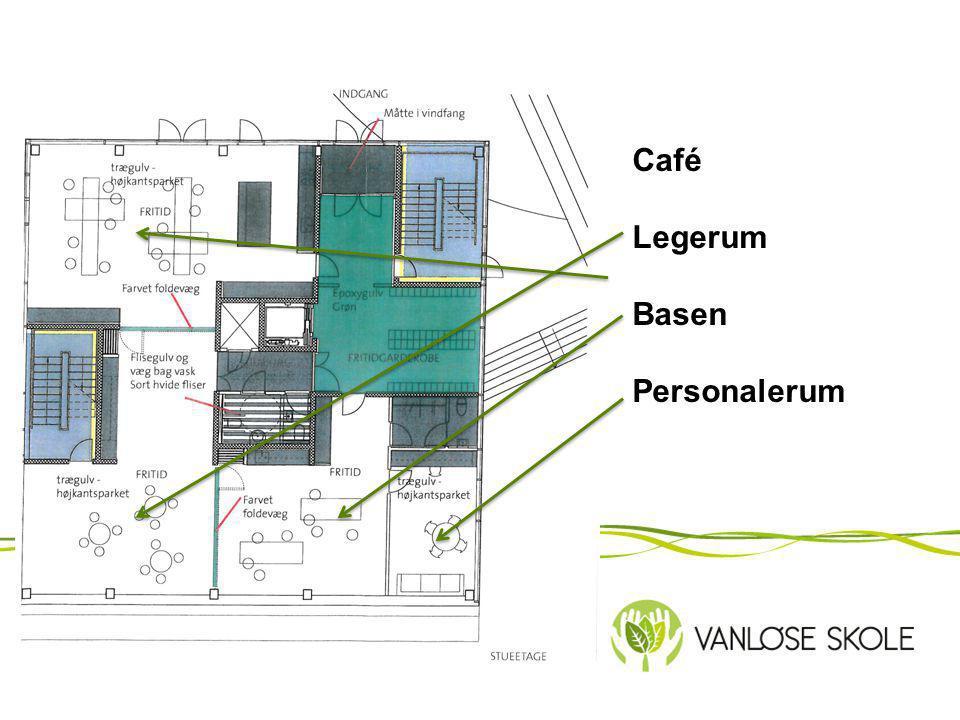 Café Legerum Basen Personalerum