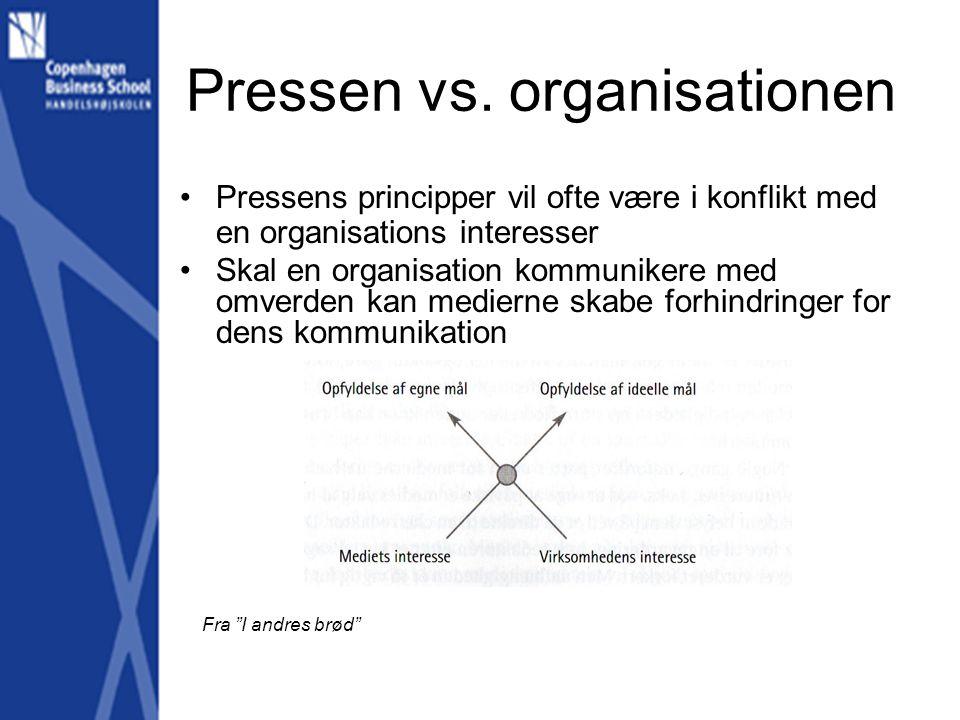 Pressen vs.