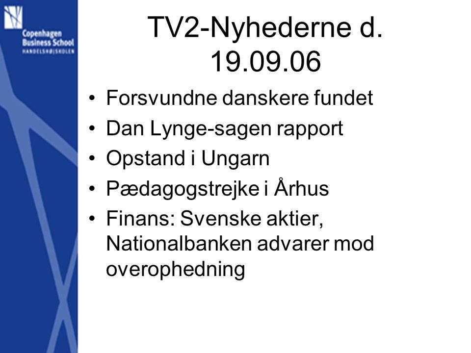 TV2-Nyhederne d.