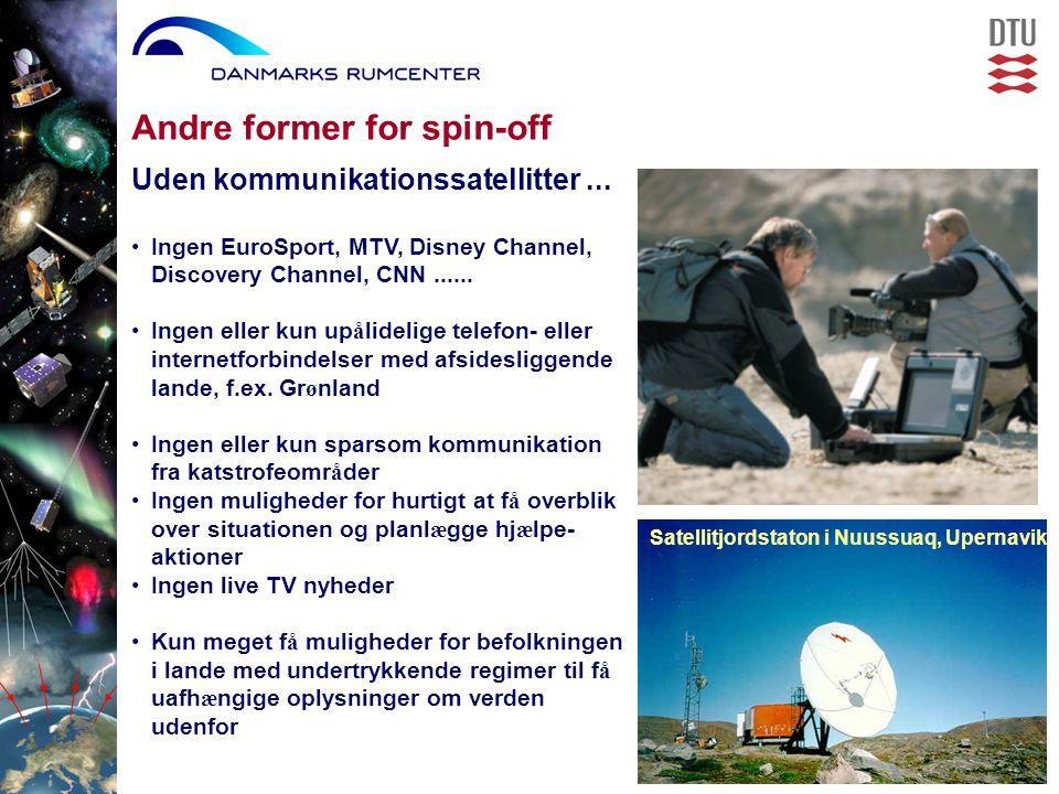 Uden kommunikationssatellitter...