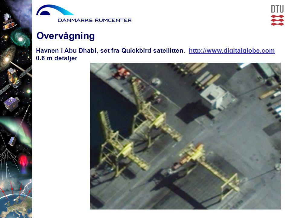 Havnen i Abu Dhabi, set fra Quickbird satellitten.