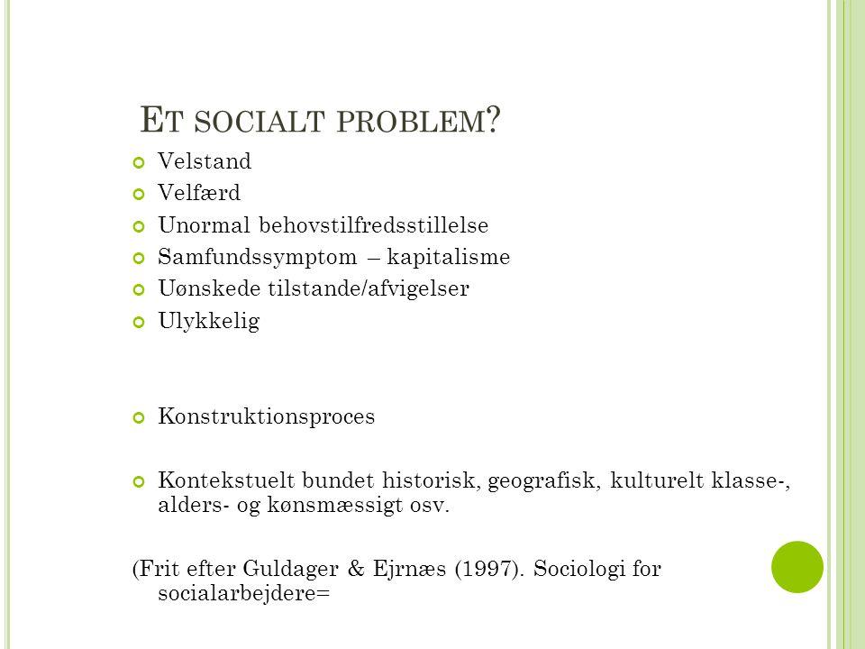 E T SOCIALT PROBLEM .