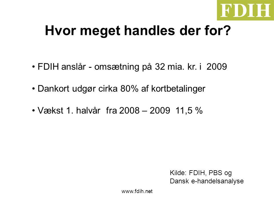 www.fdih.net Hvor meget handles der for.