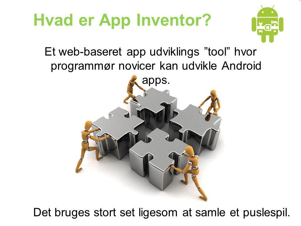Hvad er App Inventor.