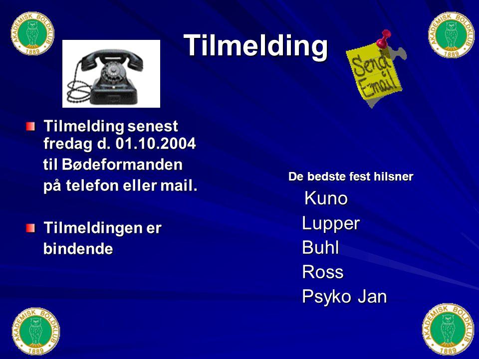 Festprogram 2004 Betaling : Brugerbetaling kr.