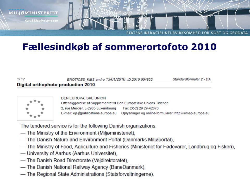 Fællesindkøb af sommerortofoto 2010