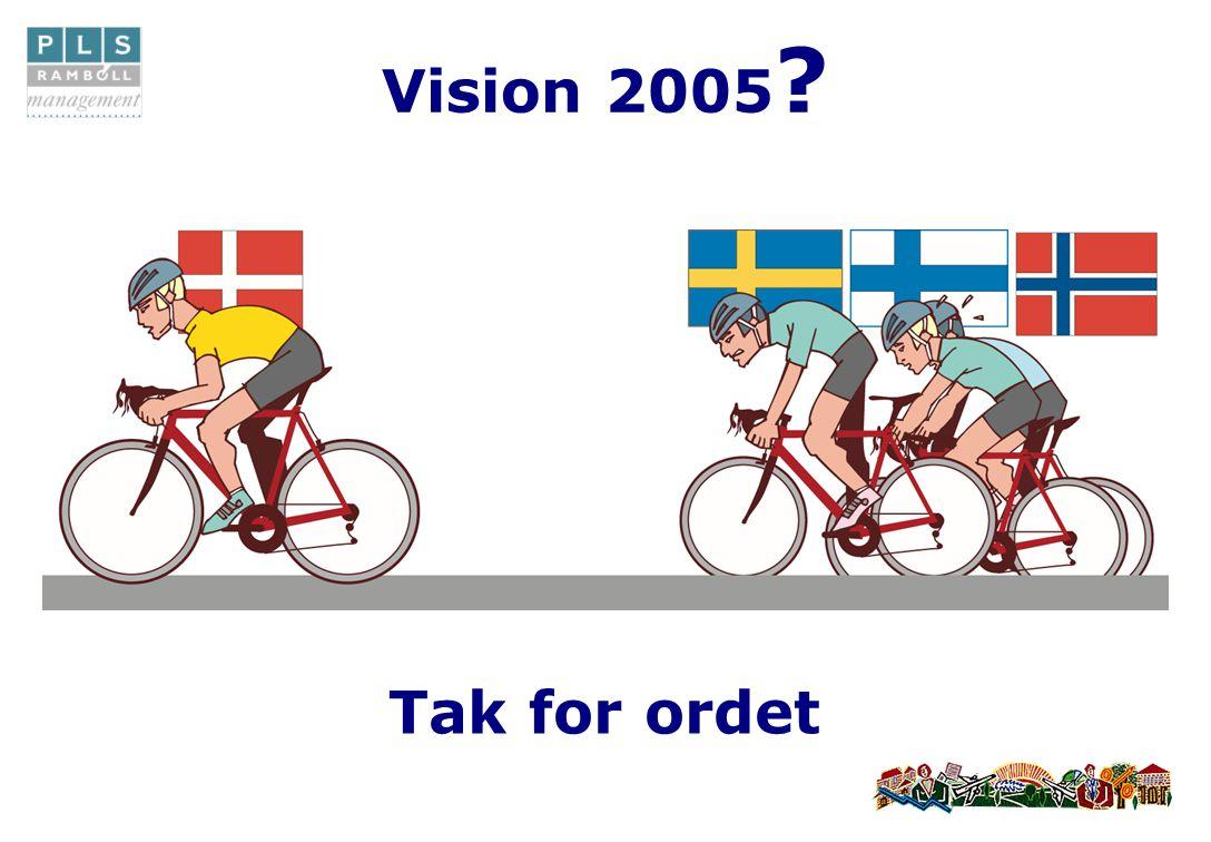 Vision 2005 Tak for ordet
