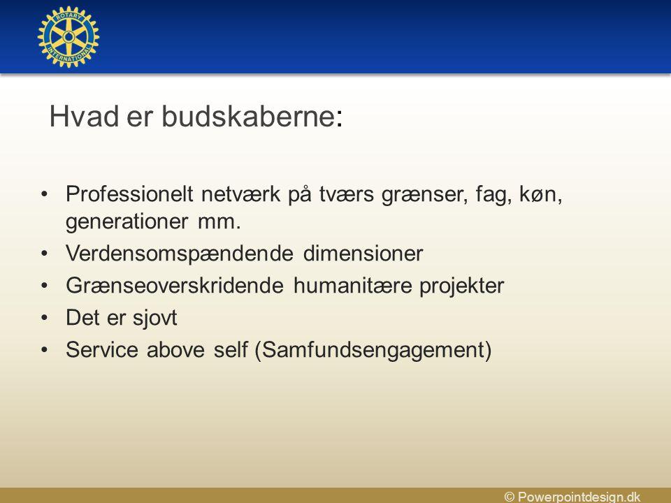 © Powerpointdesign.dk •Professionelt netværk på tværs grænser, fag, køn, generationer mm.