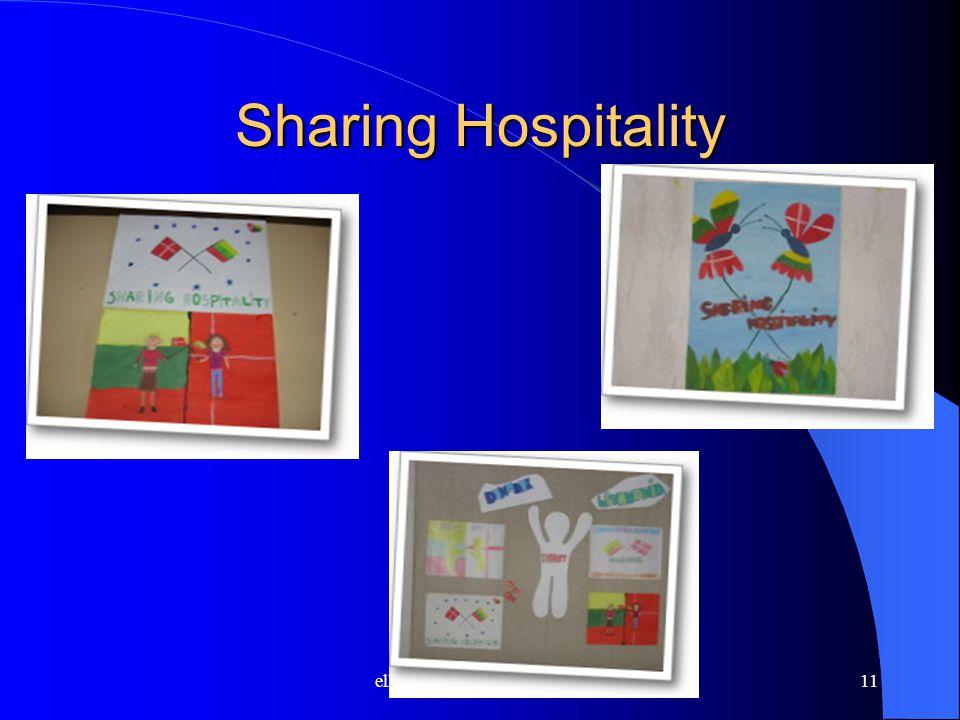 ella.myhring@skolekom.dk11 Sharing Hospitality