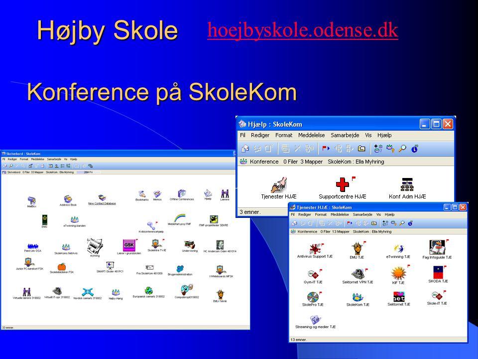 Højby Skole Konference på SkoleKom hoejbyskole.odense.dk