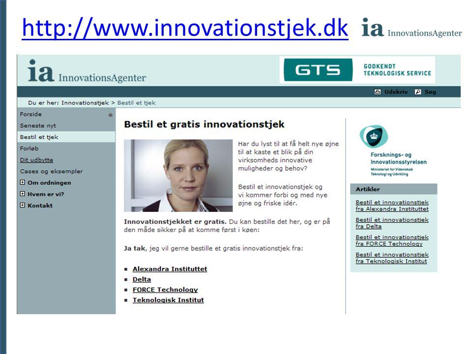 http://www.innovationstjek.dk