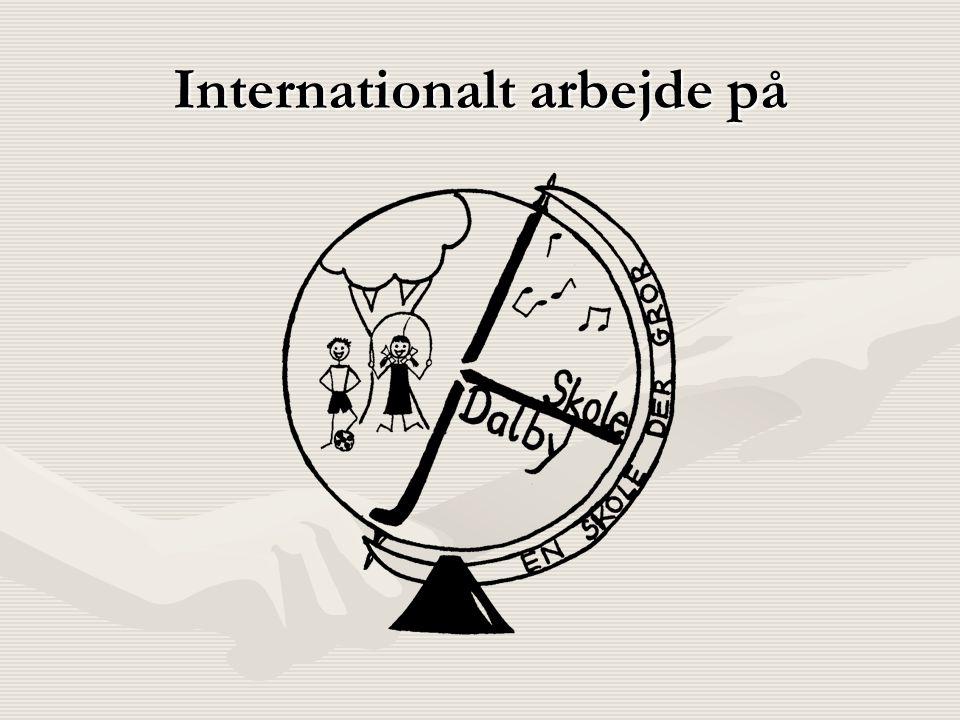 Internationalt arbejde på