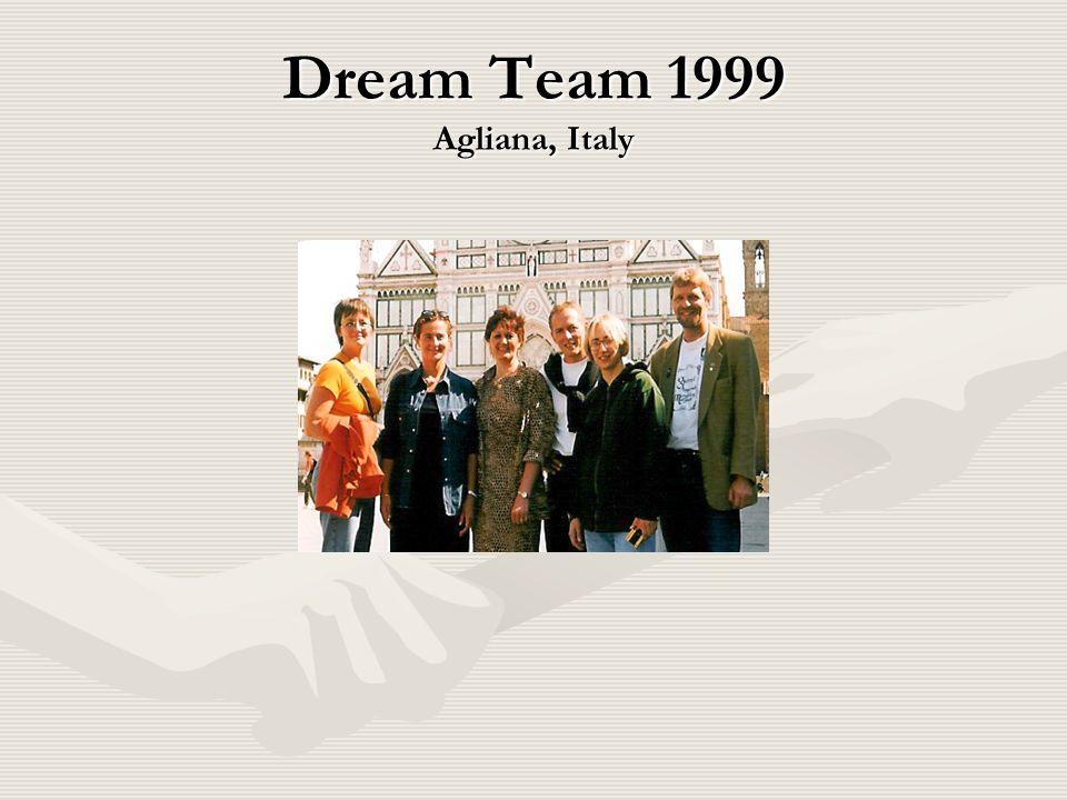 Dream Team 1999 Agliana, Italy
