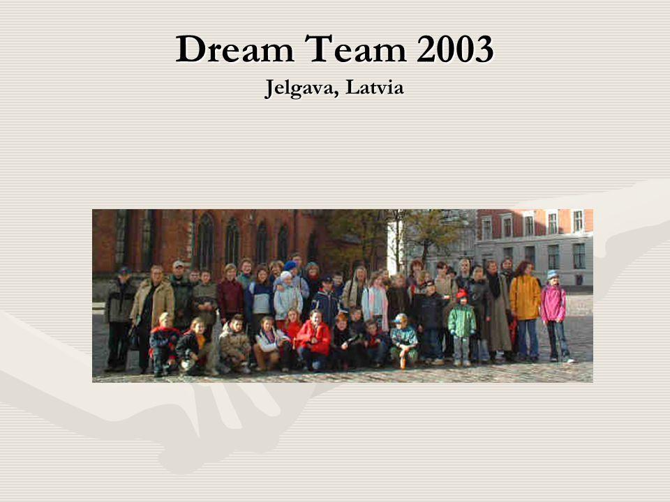 Dream Team 2003 Jelgava, Latvia