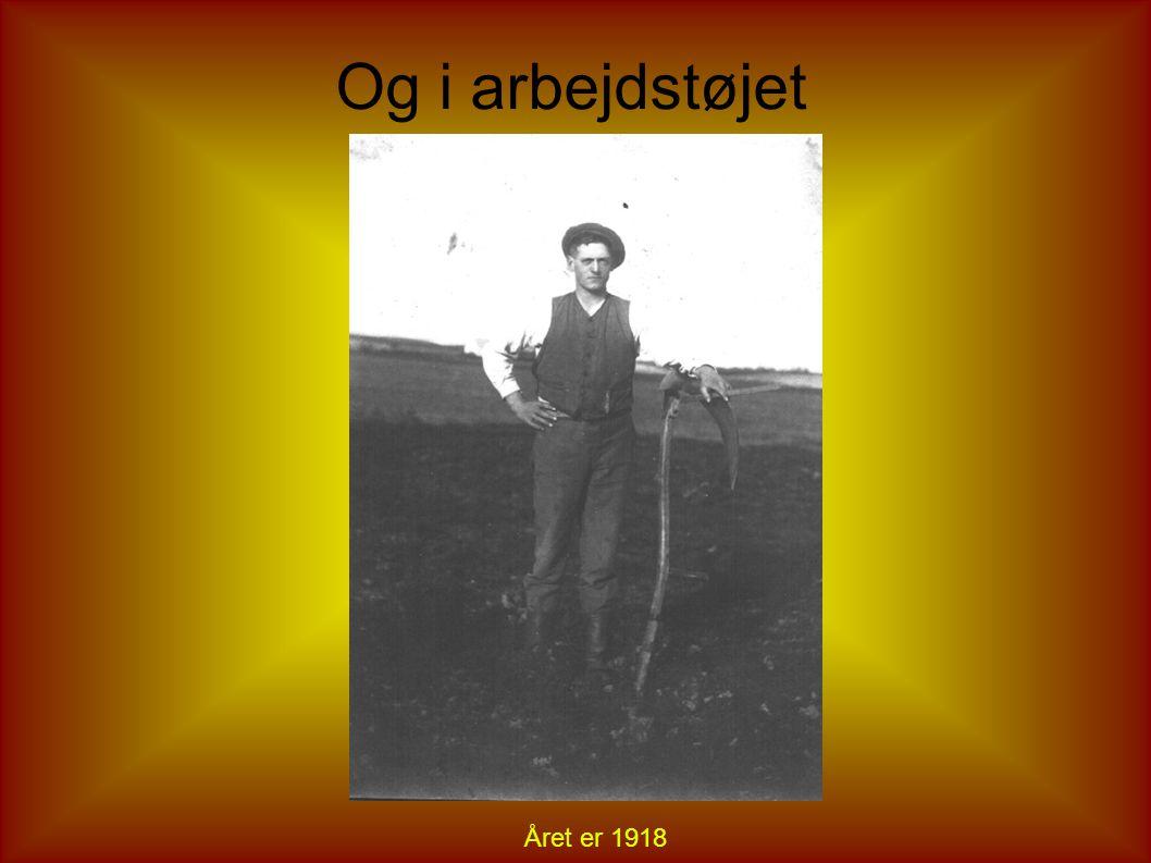 Alfred Vemmelund hos fotografen
