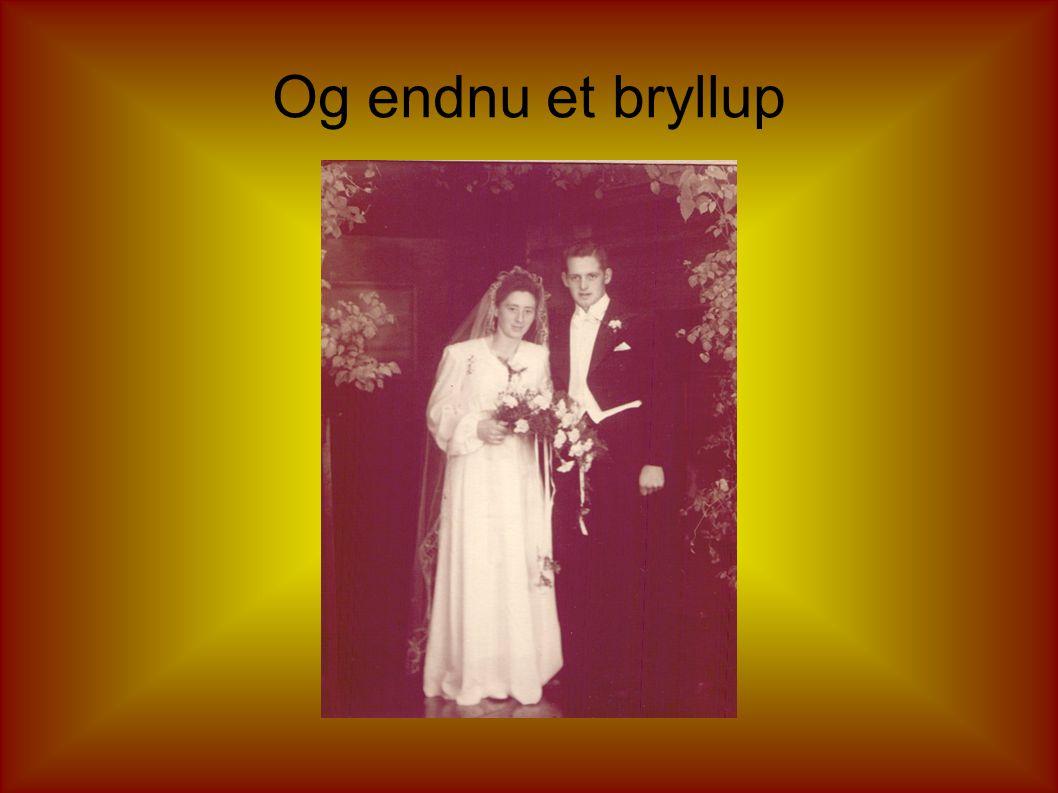 Og mere bryllup