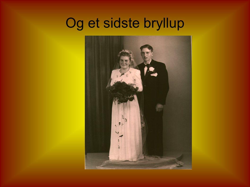 Og endnu et bryllup