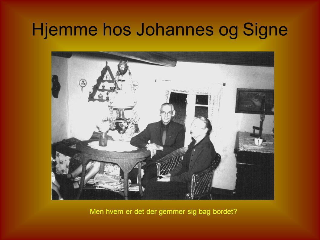 Johannes Post og moster Kristiane