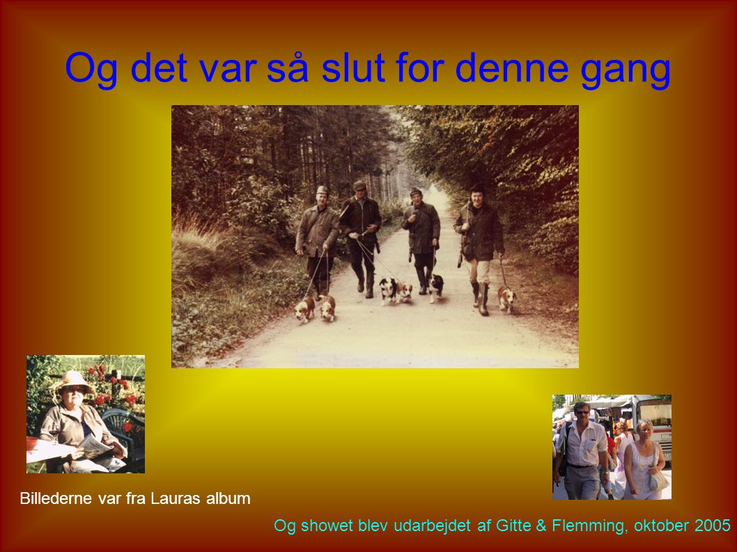 Sidste Sankthansaften på Hougaard Og det er fra venstre: Laura, Søren, Gitte, Majbrit, Alfred og Brian (samt heksen)