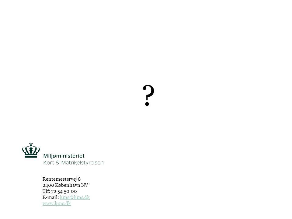 Tekst starter uden punktopstilling For at få punktopstilling på teksten (flere niveauer findes), brug >Forøg listeniveau- knappen i Topmenuen For at få venstrestillet tekst uden punktopstilling, brug >Formindsk listeniveau- knappen i Topmenuen Kort & MatrikelstyrelsenSIDE 8 Rentemestervej 8 2400 København NV Tlf: 72 54 50 00 E-mail: kms@kms.dkkms@kms.dk www.kms.dk