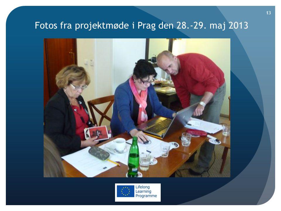 Fotos fra projektmøde i Prag den 28.-29. maj 2013 13