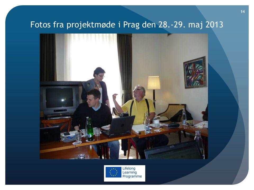 Fotos fra projektmøde i Prag den 28.-29. maj 2013 14