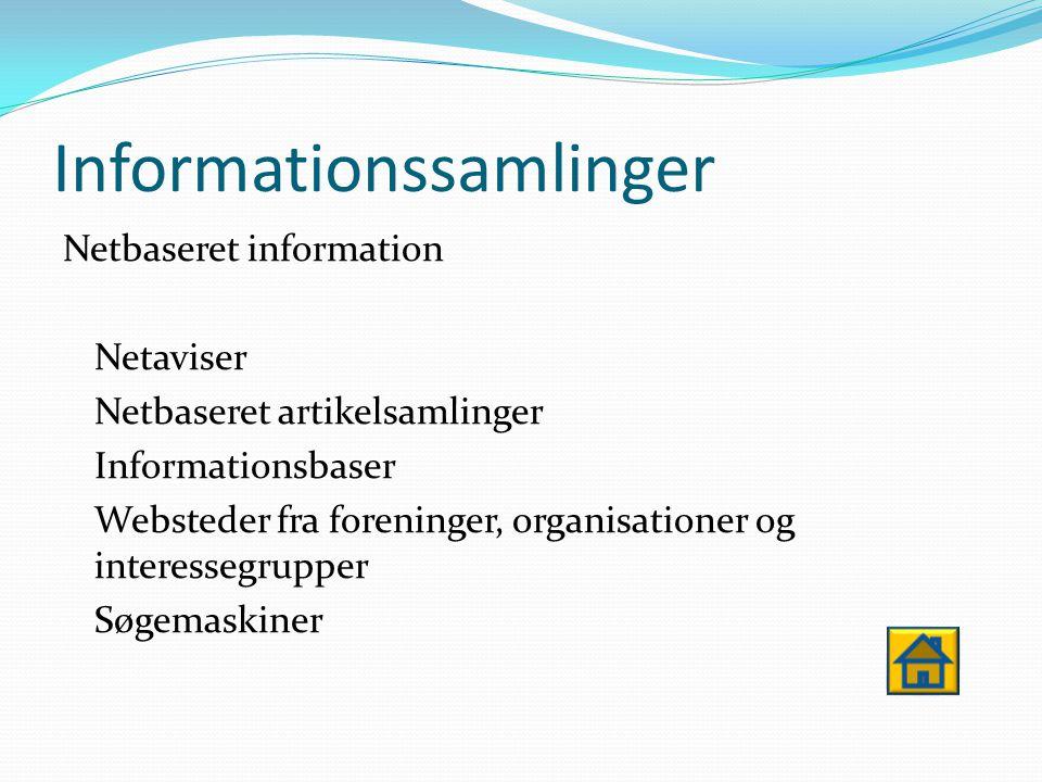 IT- værktøjer Værktøjer til læring Tekstbehandling Regneark PowerPoint Billed- / Musik behandlingsprogrammer ect.