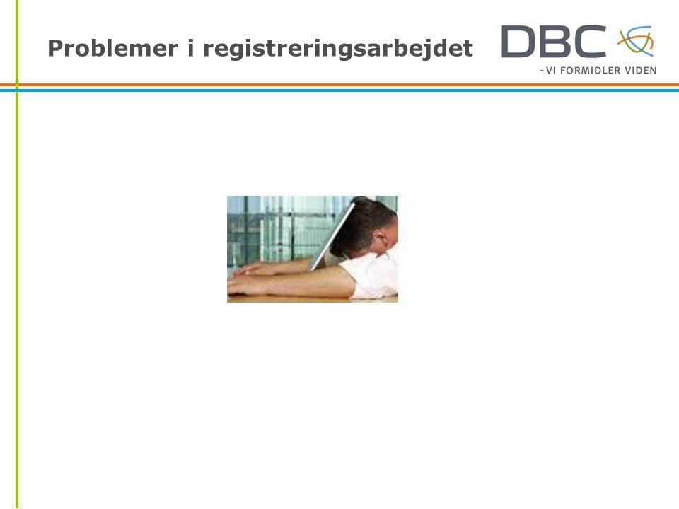 Problemer i registreringsarbejdet