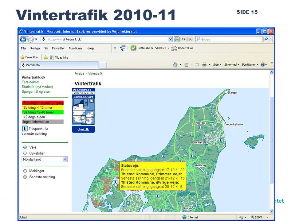 SIDE 15 Vintertrafik 2010-11