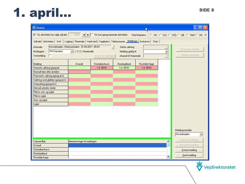SIDE 8 1. april… Randers, januar 2010