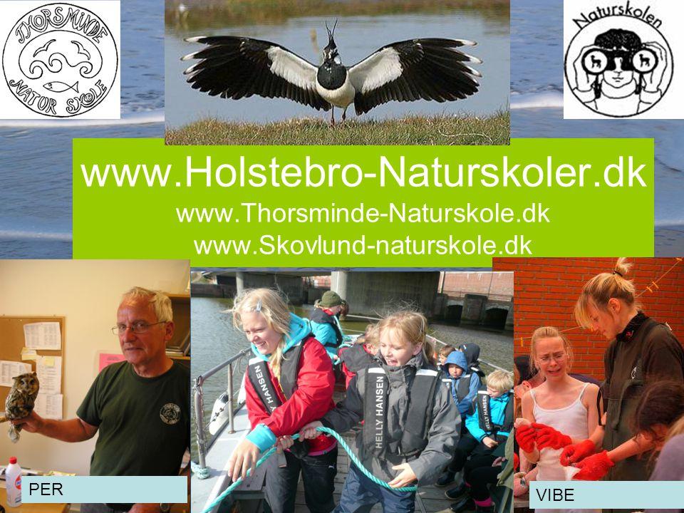 4 www.Holstebro-Naturskoler.dk www.Thorsminde-Naturskole.dk www.Skovlund-naturskole.dk PER VIBE