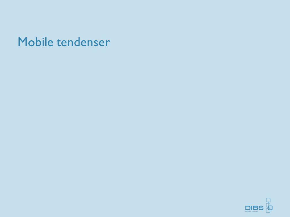 Mobile tendenser