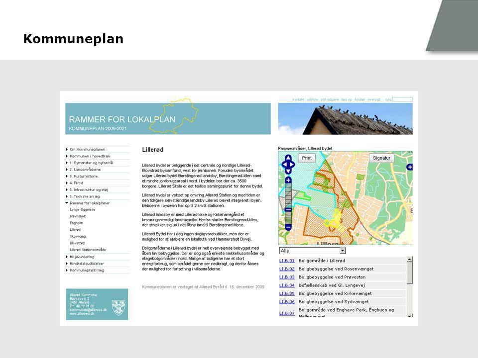 Kommuneplan Communication & Design