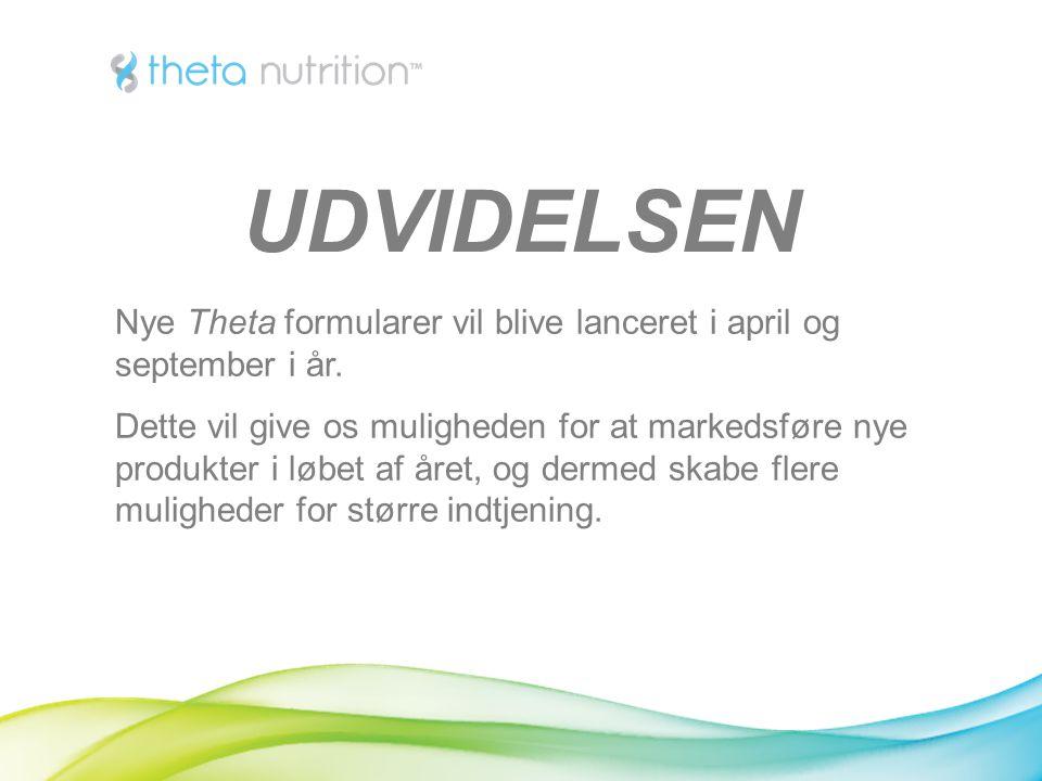Nye Theta formularer vil blive lanceret i april og september i år.