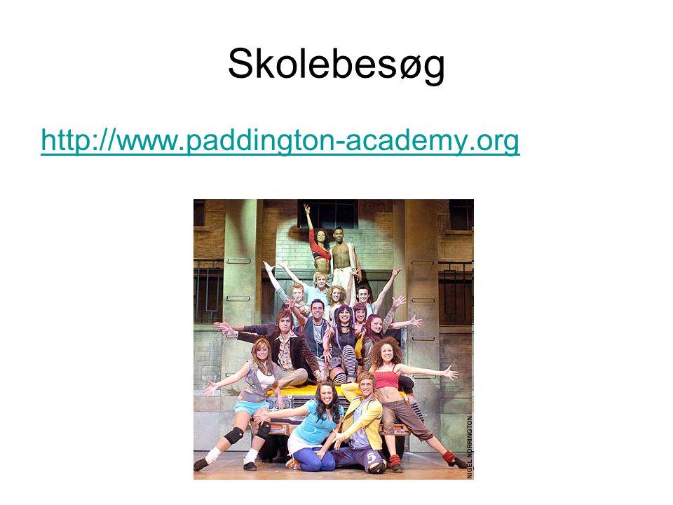 Skolebesøg http://www.paddington-academy.org