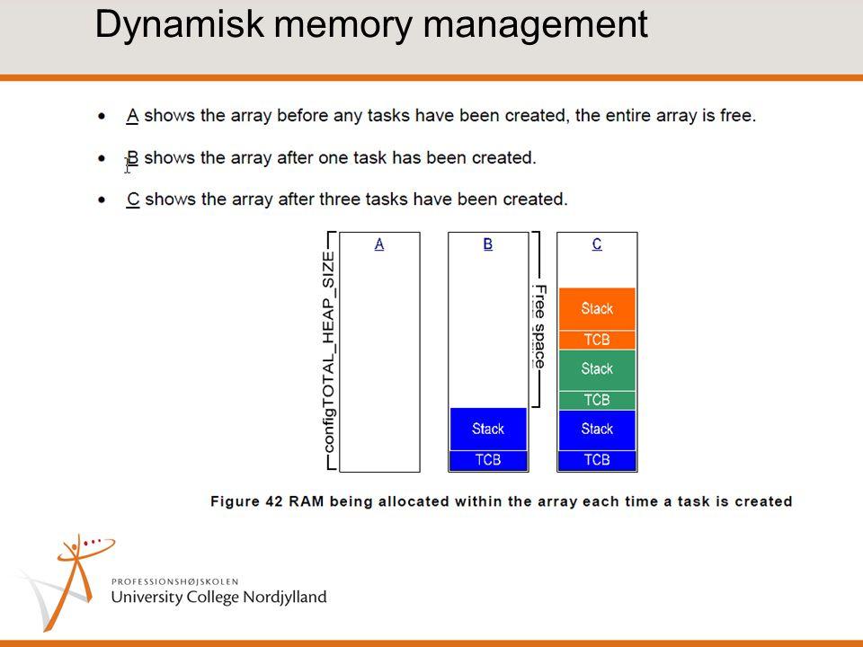 Dynamisk memory management
