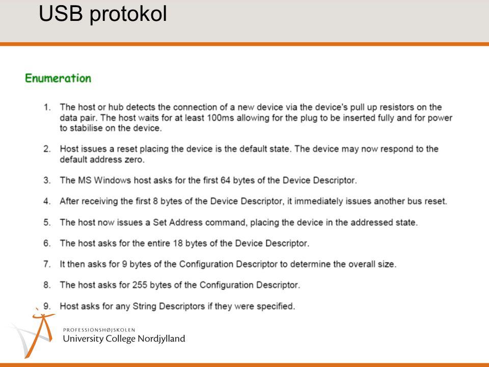 USB protokol