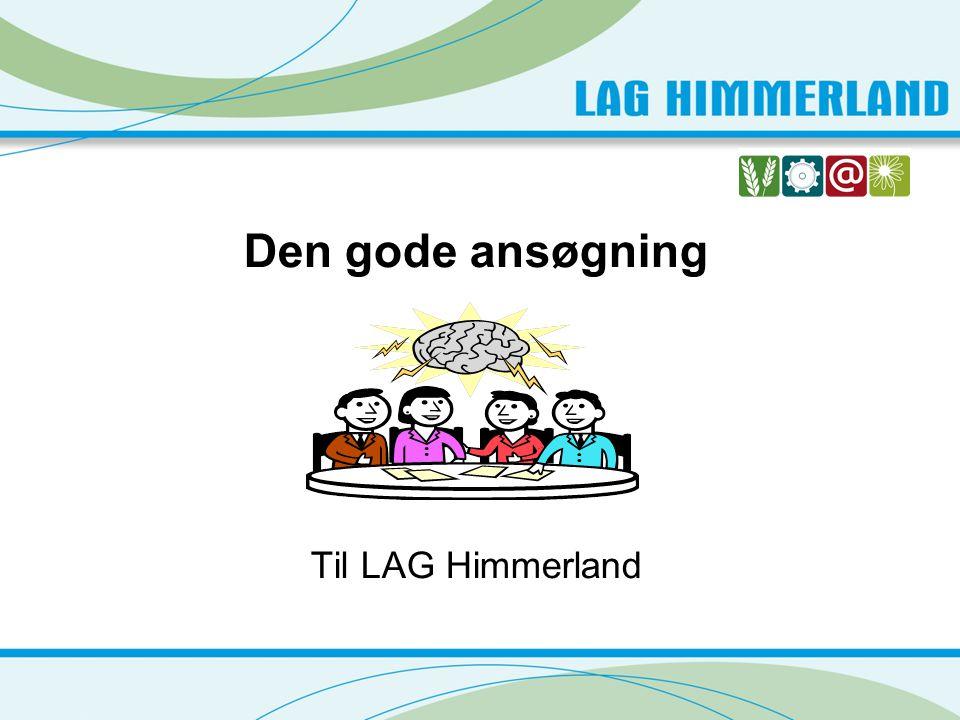 LAG Himmerland har til uddeling: Ca.3,3 millioner kr.