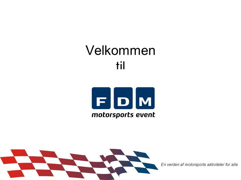 Velkommen til En verden af motorsports aktiviteter for alle