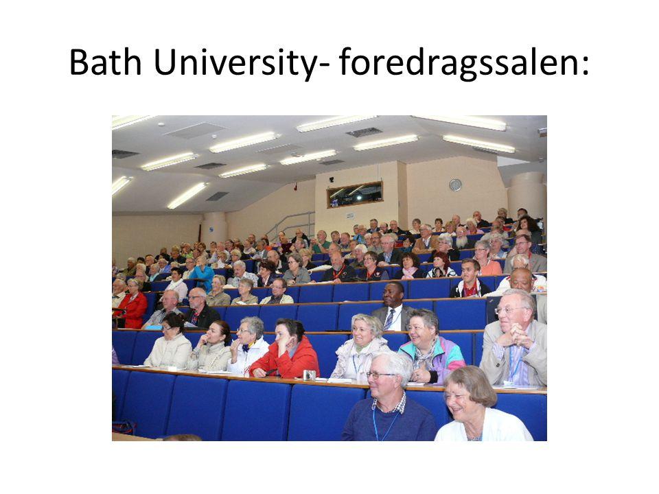 Bath University- foredragssalen: