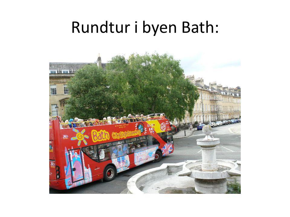 Rundtur i byen Bath: