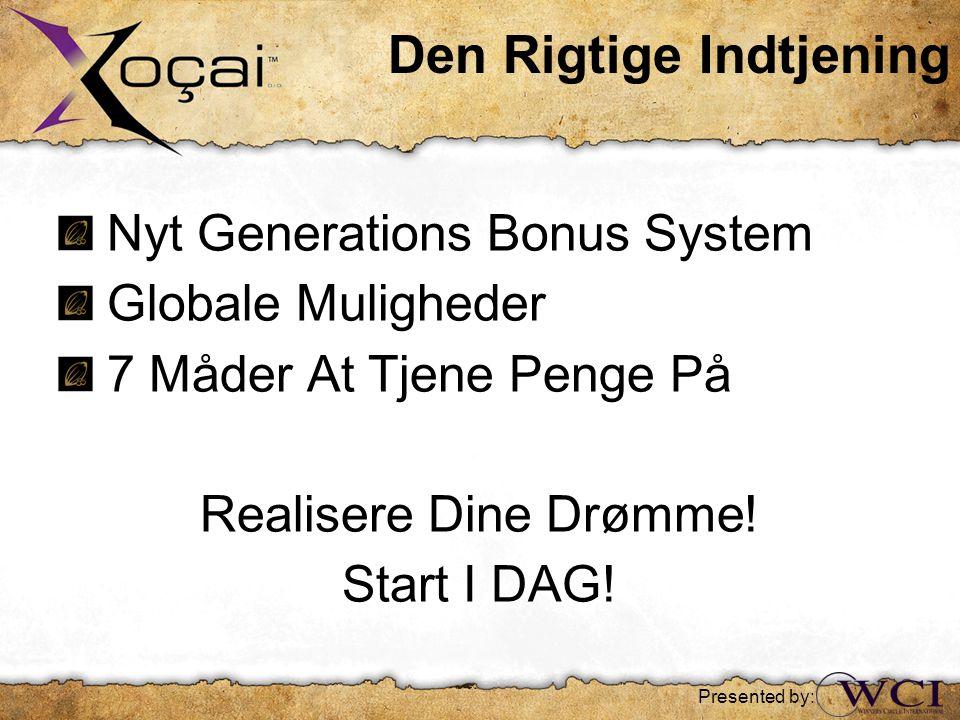 Nyt Generations Bonus System Globale Muligheder 7 Måder At Tjene Penge På Realisere Dine Drømme.