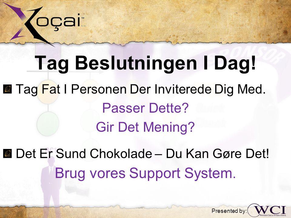 Tag Beslutningen I Dag. Tag Fat I Personen Der Inviterede Dig Med.