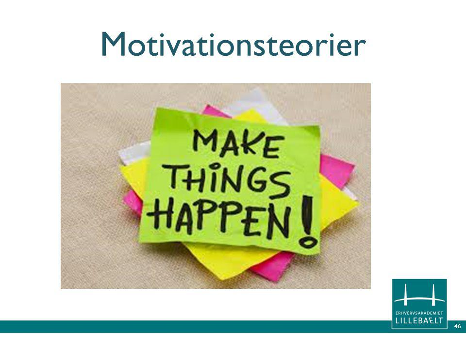 46 Motivationsteorier