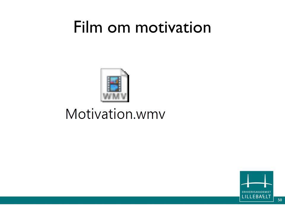 50 Film om motivation