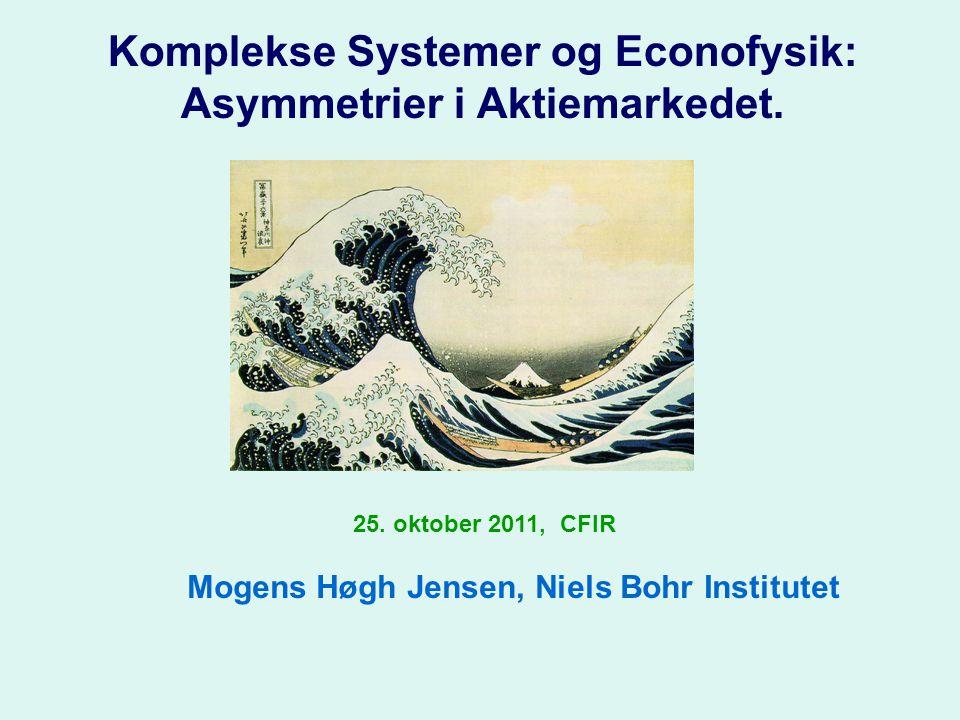 Komplekse Systemer og Econofysik: Asymmetrier i Aktiemarkedet.