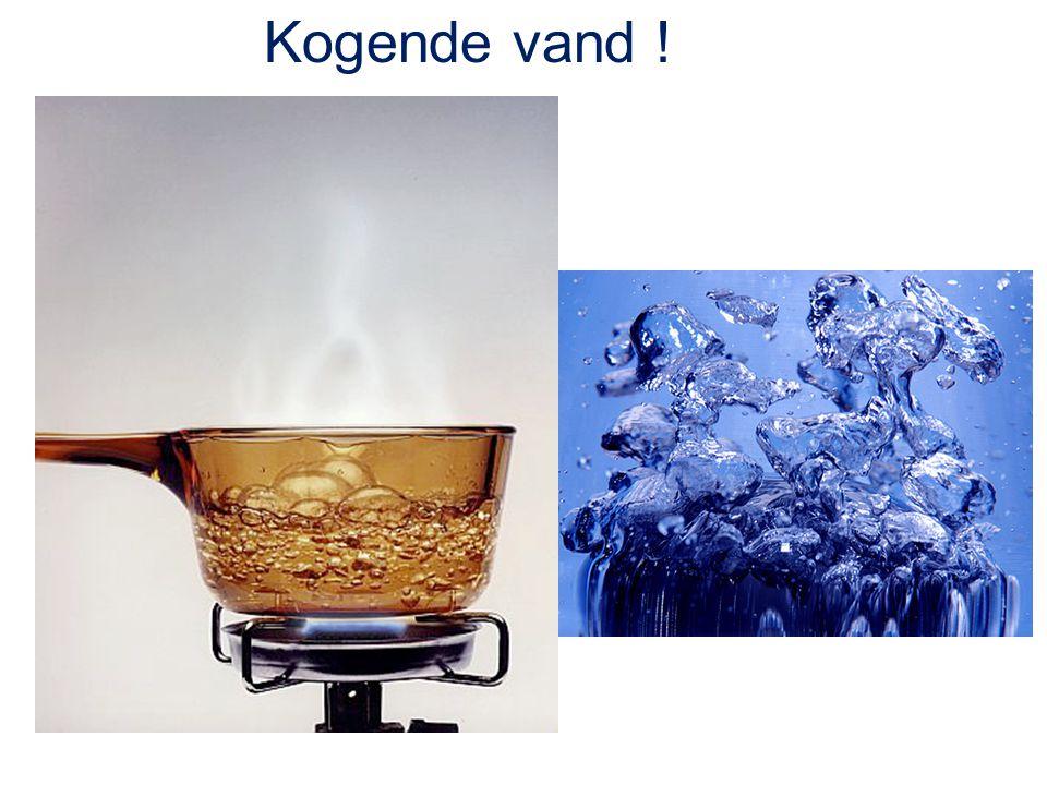 Kogende vand !