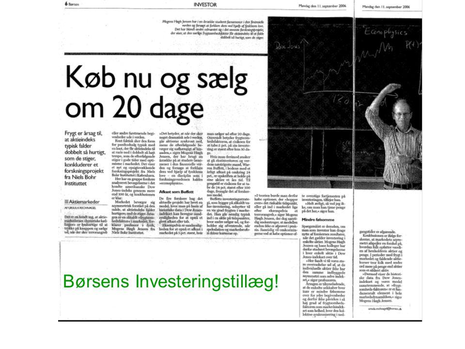 Børsens Investeringstillæg!